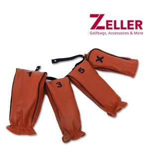 ツェラーゴルフバッグ ZELLER GOLFBAGS 4点セット ヘッドカバー|t-on