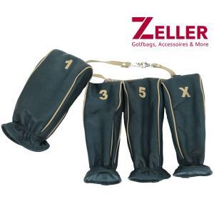 ツェラーゴルフ ZELLER GOLFBAGS 4点セット ヘッドカバー|t-on