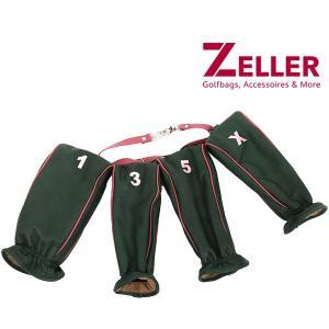 ツェラー ゴルフバッグ ZELLER GOLFBAGS 4点セットヘッドカバー|t-on