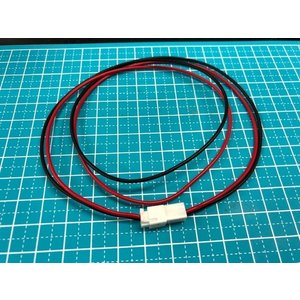 XHコネクター2P 延長用50CM(赤・黒)|t-parts