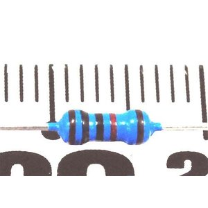 1/4W カーボン抵抗(100Ω〜910Ω)50本入 t-parts 02