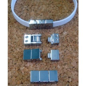 8mmベルト用 ブレスレット金具(ジョイント金具)|t-parts