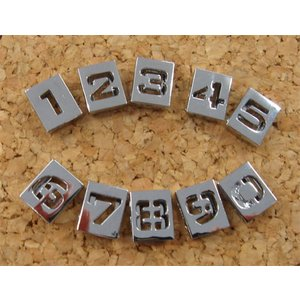 キューブ 数字  AC012|t-parts