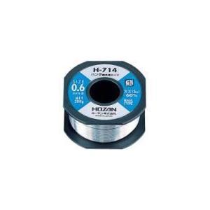 ハンダ無洗浄タイプ0.6φ H-714 【HOZAN】|t-parts