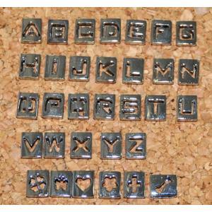 キューブ アルファベット &チャーム AC012|t-parts