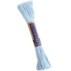 オリムパス刺し子糸よりも細く、一目刺し柄におすすめです。  ◯品質:綿100%  ◯糸長:長さ1かせ...