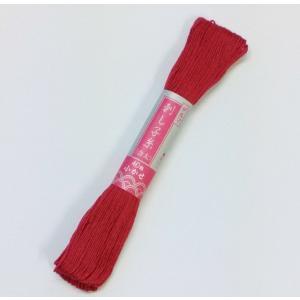 オリムパス刺し子より気持ち細め。  ◯品質:綿100%  ◯糸長:長さ1かせ約40m  ◯色数:20...