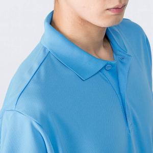 ポロシャツ メンズ 半袖 無地 ドライ 吸汗 ...の詳細画像2