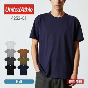 Tシャツ メンズ 半袖 無地 厚手 United Athle(ユナイテッドアスレ) スーパーヘヴィーウェイト 7.1オンス Tシャツ 4252 ホワイト 白色 白Tシャツ 白T|t-shirtst