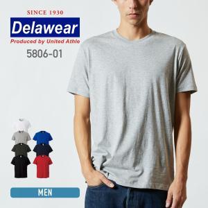 Tシャツ メンズ 半袖 無地 薄手 白 黒 など deslawear(デラウェア) 4.0オンス プロモーションTシャツ 5806|t-shirtst