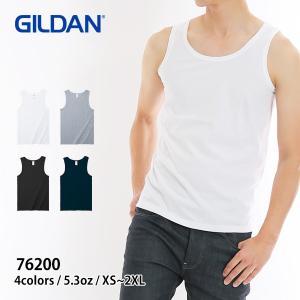 タンクトップ メンズ 無地 5.3オンス アダルトタンクトップ インナーにも GILDAN(ギルダン) 76200|t-shirtst