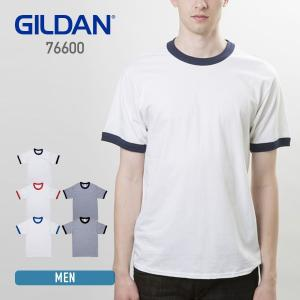 Tシャツ メンズ 半袖 無地 GILDAN(ギルダン) 5.3オンス アダルトリンガーTシャツ 76600|t-shirtst