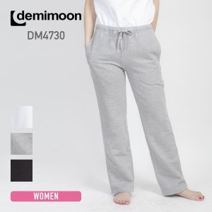 レディース無地スウェットパンツ demimoon(デミムーン) DE4730|t-shirtst