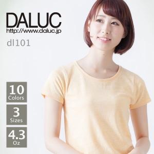 レディース 無地 オーセンティックトライブレンドTシャツ DALUC(ダルク) DL101|t-shirtst