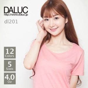 クルーネックレディースTシャツ DALUC(ダルク) DL201|t-shirtst