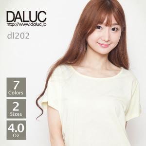ドルマンスリーブTシャツ4.0oz(レディース) M-L DALUC(ダルク) DL202...