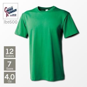 Tシャツ メンズ 無地 半袖 ライトウェイトTシャツ 4.0oz トレーニング  CROSS RUNNER(クロスランナー) LBT600|t-shirtst
