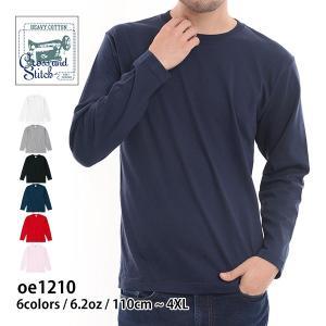 長袖Tシャツ 厚手 激安 ロンT メンズ CROSS STITCH(クロススティッチ)oe1210c