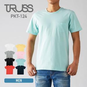 Tシャツ メンズ 半袖 無地 TRUSS(トラス) 5.0オ...