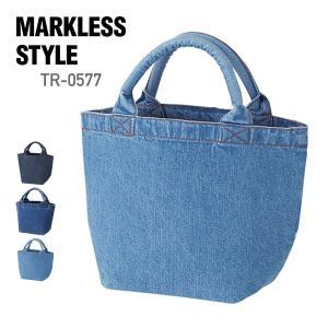 MARKLESS STYLE(マークレススタイル)|ウォッシュデニムトート(S) tr0577|t-shirtst