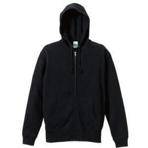 10ozフルジップパーカースウェット(パイル)【ユナイテッドアスレ】5213-02 t-shirtstore