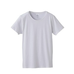 無地Tシャツ ファインジャージー4.7oz レディース 白 rucca 5745-04 t-shirtstore