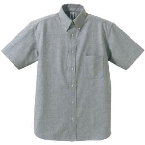 オックスフォードシャツ 半袖Yシャツ ボタンダウン メンズ【ユナイテッドアスレ】1068-01 t-shirtstore