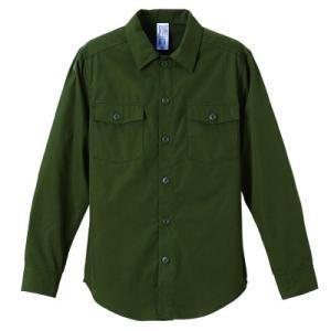 N/Cファティーグ ロングスリーブ シャツ【ユナイテッドアスレ】1431-01 t-shirtstore