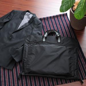 三つ折りガーメントバッグ メンズ ガーメントケース 出張 冠婚葬祭 ガーメントバッグ t-style
