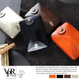 VPR コンパクト財布 メンズ 革 本革 レザー カードケース 小銭入れあり|t-style