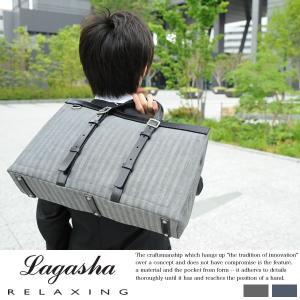 LAGASHA ラガシャ ビジネスバッグ メンズ B4 ビジネストートバッグ|t-style