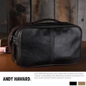 ANDY HAWARD 2wayセカンドバッグ メンズ クラッチバッグ ポーチ|t-style