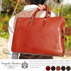 青木鞄 ビジネスバッグ メンズ 本革 B4 2way 30代 40代 玄ボウ COMPLEX GARDENS|t-style