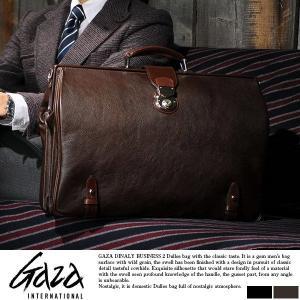 青木鞄 ダレスバッグ 本革 メンズ ビジネスバッグ GAZA t-style