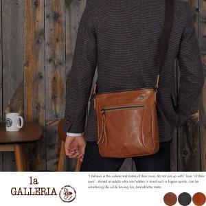 青木鞄 本革ショルダーバッグ メンズ 日本製 B5 la GALLERIA Zingaro|t-style