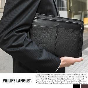 セカンドバッグ メンズ 日本製 A5 豊岡鞄 PHILIPE LANGLET t-style