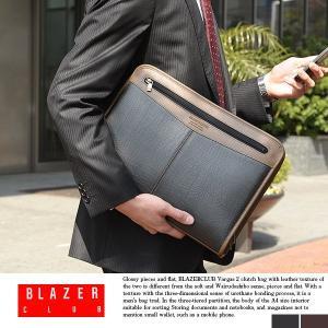 クラッチバッグ メンズ 日本製 A4 豊岡鞄 BLAZERCLUB|t-style