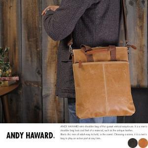 ショルダーバッグ メンズ 日本製 A4 合皮 ANDY HAWARD|t-style