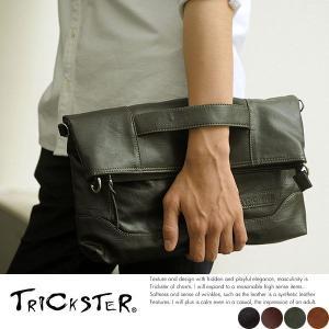 TRICKSTER 3wayクラッチバッグ メンズ ショルダー トリックスター|t-style