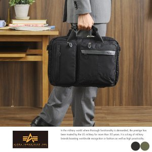 ALPHA INDUSTRIES INC. 2wayビジネスバッグ シングル|t-style