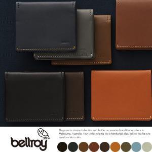 bellroy ベルロイ 財布  札入れ 薄い 薄型 二つ折り 本革 レザー 小銭入れなし|t-style