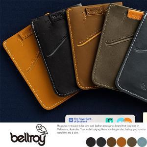 bellroy ベルロイ 財布  カードケース 薄い 薄型 パスケース 本革 レザー|t-style