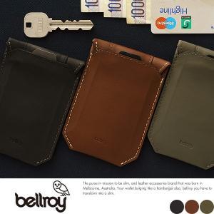 bellroy ベルロイ 財布  防水カードケース 薄い 薄型 パスケース 本革 レザー t-style