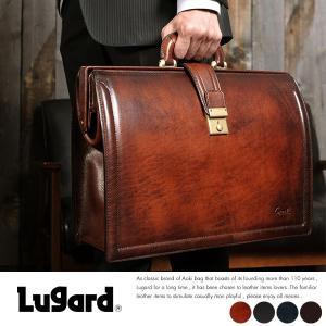青木鞄 Lugard 本革ダレスバッグ メンズ 日本製 レザー B4|t-style