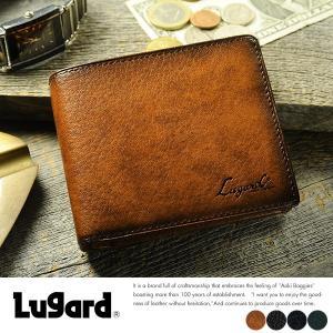 青木鞄 Lugard ボックス型コインケース メンズ 本革 小銭入れ レザー|t-style