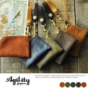 AGILITY L字ファスナー短財布 メンズ 本革 日本製 小銭入れ|t-style