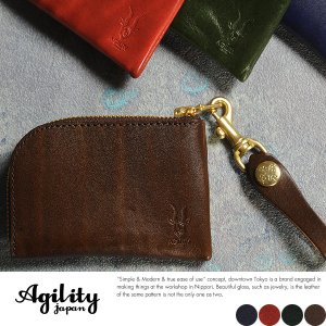 AGILITY L字ファスナー短財布 メンズ 本革 日本製 レザー 財布|t-style