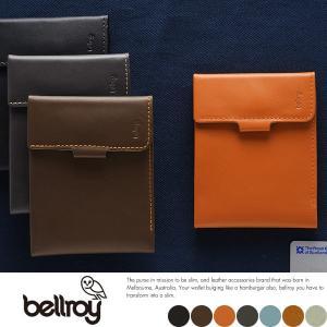 bellroy ベルロイ 財布 薄い 薄型 二つ折り 本革 レザー 小銭入れあり|t-style