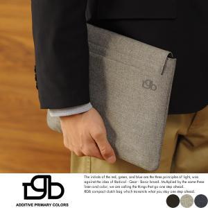 R.G.B. クラッチバッグ メンズ バッグインバッグ iPad|t-style