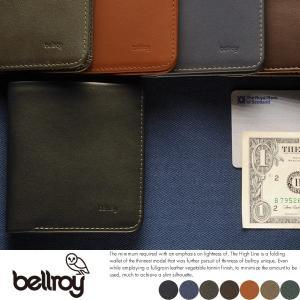bellroy ベルロイ 財布 薄い 二つ折り 小銭入れなし 札入れ 本革 レザー|t-style